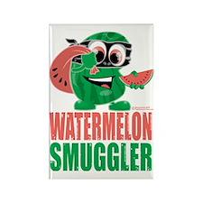 Watermelon-Smuggler Rectangle Magnet