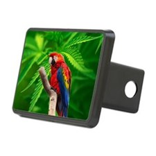 scarlet macaw peace love c Hitch Cover
