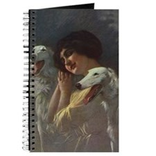 Lady And Borzoi Journal