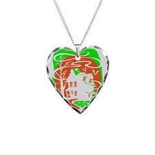 Haunted-House Necklace