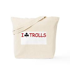 """I Club Trolls"" Tote Bag"