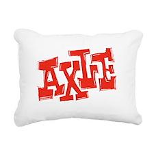 axle_BW-black_shirt_12x1 Rectangular Canvas Pillow