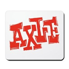 axle_BW-black_shirt_12x12 Mousepad