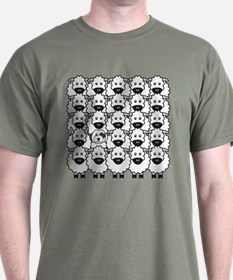 Old English in the Sheep T-Shirt