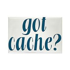 GotCache-blue  Rectangle Magnet