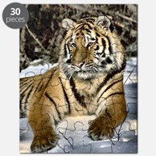 siberian tiger art Puzzle