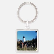 3-001 January Presque Isle 2011 Square Keychain