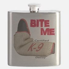BITE ME - Certified K9 Decoy (light) Flask