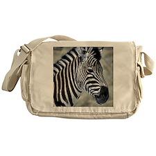 Zebra Art Messenger Bag