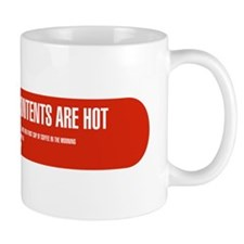 CONTENTS HOT LABEL Mug