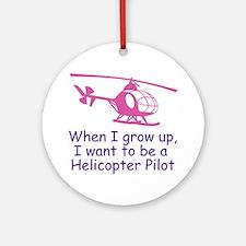 heliPilot Round Ornament