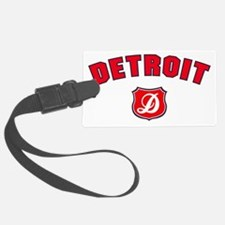 Detroit Throwback Luggage Tag