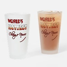 World's Hottest Charge Nurse Drinking Glass