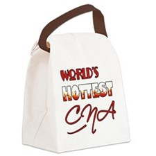 World's Hottest CNA Canvas Lunch Bag