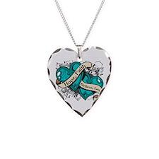 PTSD Hope Hearts Necklace Heart Charm
