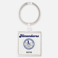 AlmendaresL1_Light Square Keychain