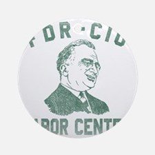 fdr-cio copy Round Ornament