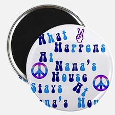 Peace Nanas House Magnet