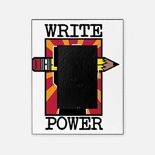write power-whiteshirt Picture Frame