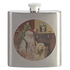 (R) - Santa - Spinone Italiano (TWO) Flask
