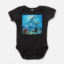 Ocean Life Baby Bodysuit
