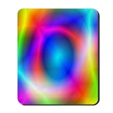 Rainbow Glow Mousepad