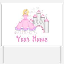 Princess Personalized Yard Sign