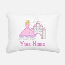 Princess Personalized Rectangular Canvas Pillow