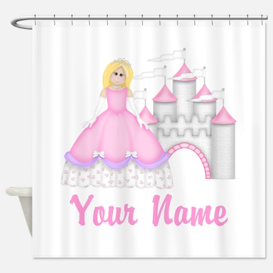 Princess Personalized Shower Curtain