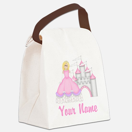 Princess Personalized Canvas Lunch Bag
