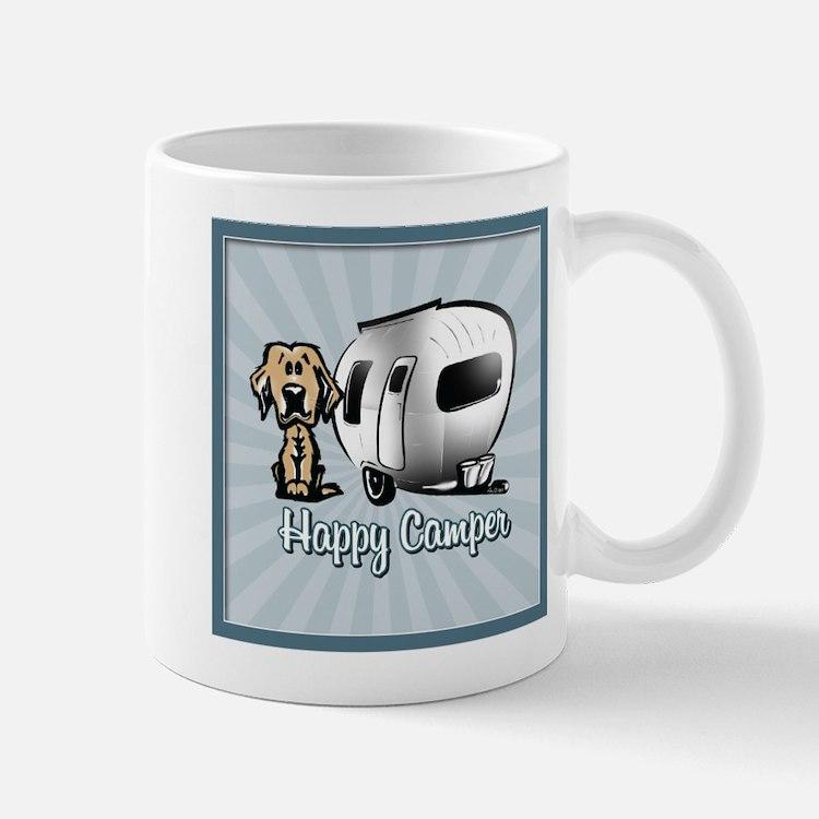 Happy Camper Dog Mugs