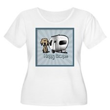 Happy Camper Dog Plus Size T-Shirt
