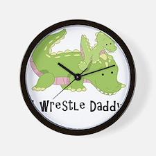 I wrestle daddy Wall Clock