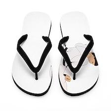 taekwondo c(blk) Flip Flops