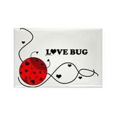RedLovebugBrand Rectangle Magnet