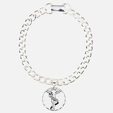 Chiropractic Symbol Bracelet