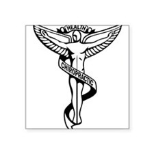 Chiropractic Symbol Sticker