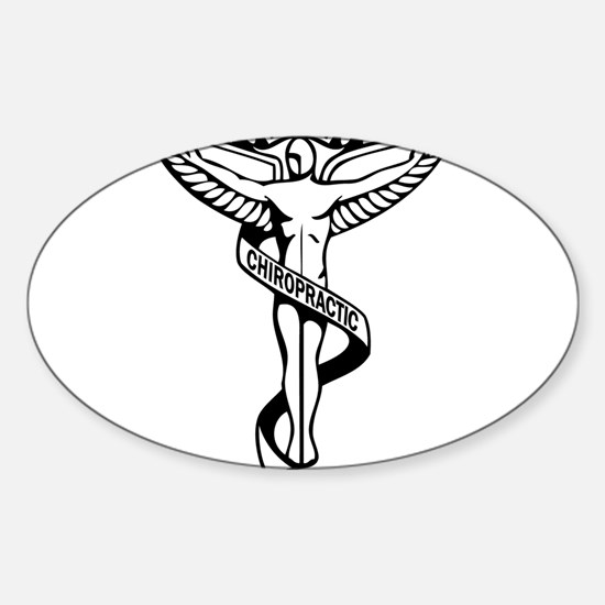 Chiropractic Symbol Decal