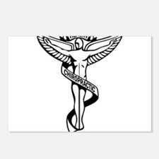 Chiropractic Symbol Postcards (Package of 8)
