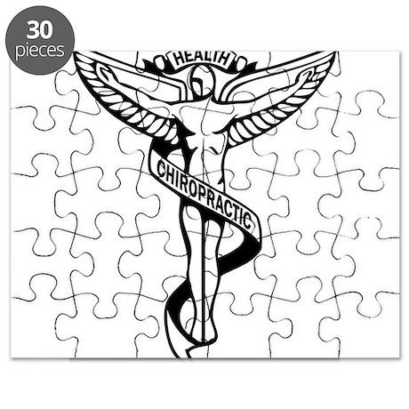 Chiropractic Symbol Puzzle by drventura
