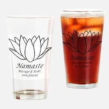 Namaste3 Drinking Glass