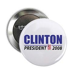 "Clinton 2008 2.25"" Button (100 pack)"