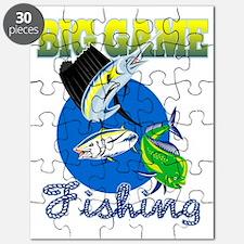 Sailfish dorado dolphin fish and bluefin tu Puzzle