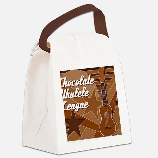 titusfactory_ChocolateUkeLeague02 Canvas Lunch Bag