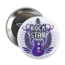 """RockStar_Light 2.25"""" Button"""