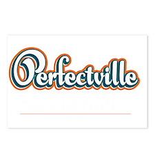 Perfectville_Dark Postcards (Package of 8)