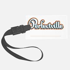 Perfectville_Dark Luggage Tag