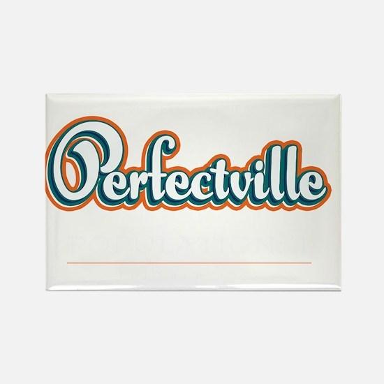 Perfectville_Dark Rectangle Magnet