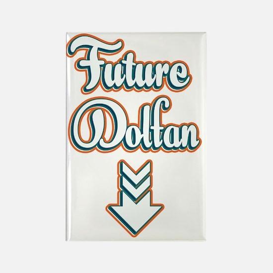 FutureDolfan_Dark Rectangle Magnet