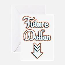FutureDolfan_Dark Greeting Card